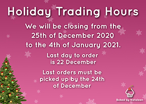 Holiday Trading Hours