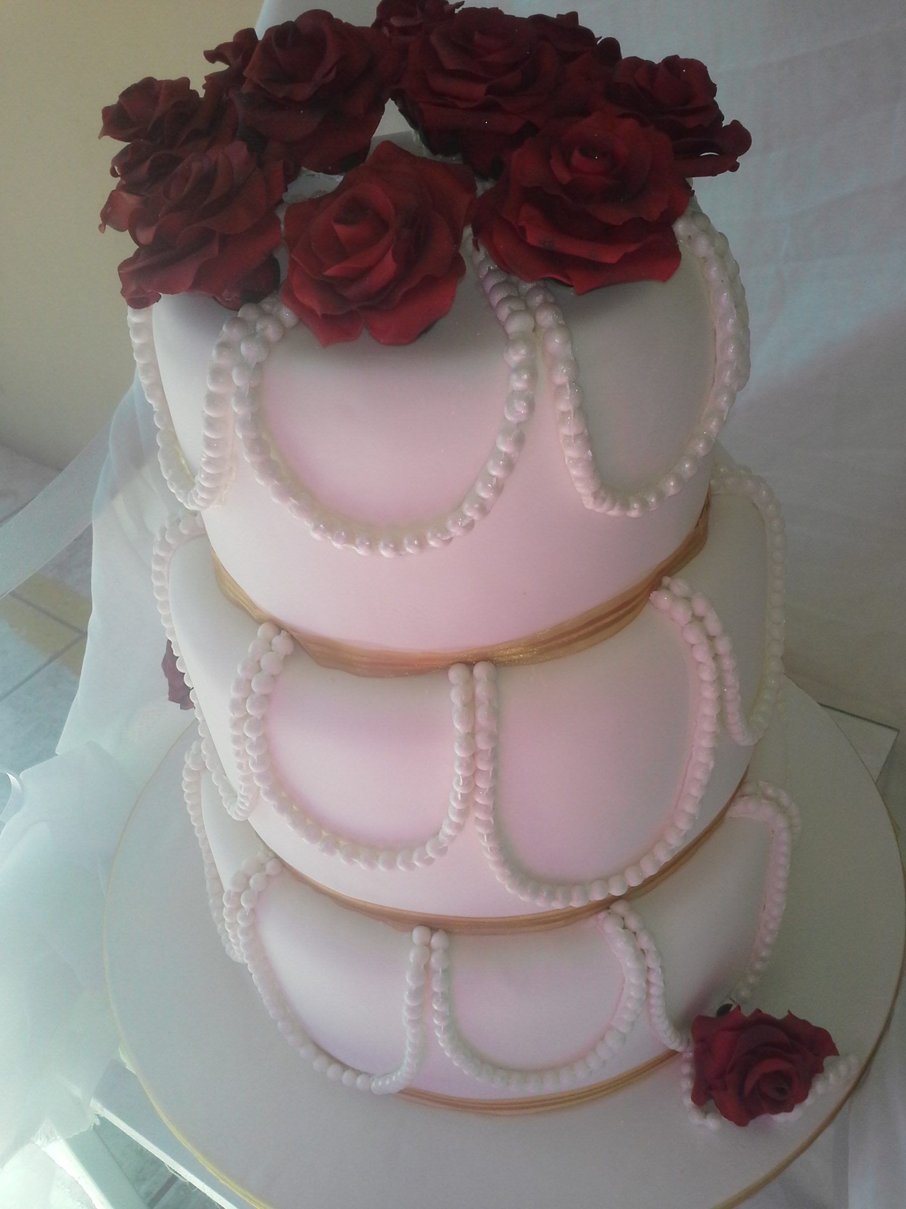 3 Tier Wedding Cakes R2500 To R4500 Baked By Nataleen