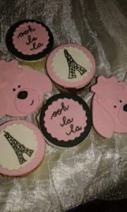 3D cupcake R15 to R35 each