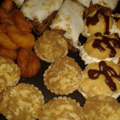 Sweet snack platter