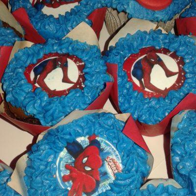 Spiderman Edible print cupcake R12 to R20 each