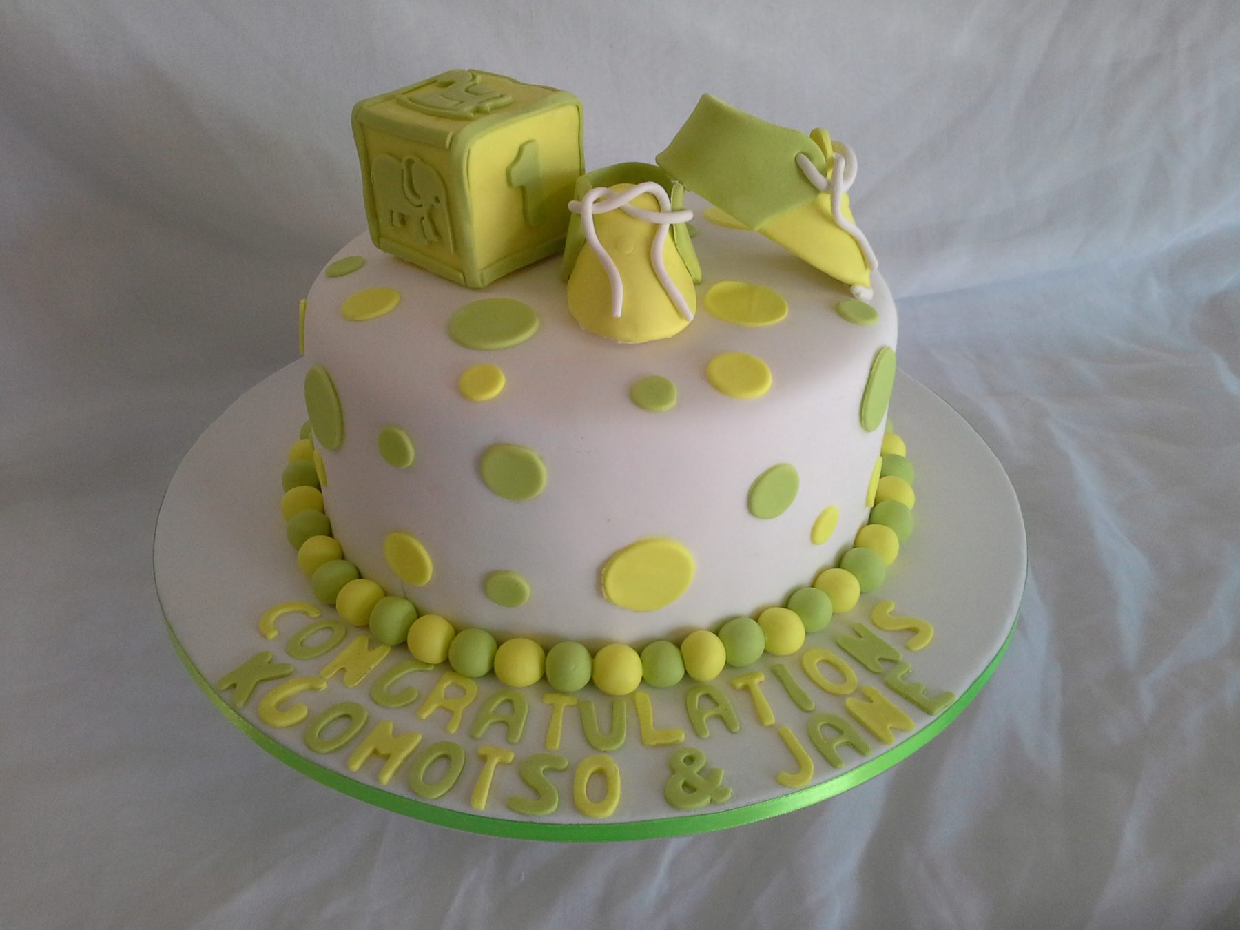 Baby Shower Christening Cakes Baked By Nataleen