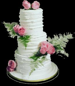 Beautiful, professional wedding cake