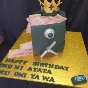 Vault cake