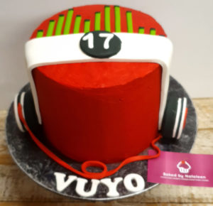 Headphones birthday cake