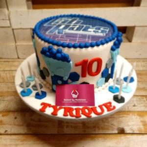 Lab rats birthday cake
