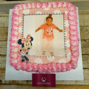 custom photo print cake