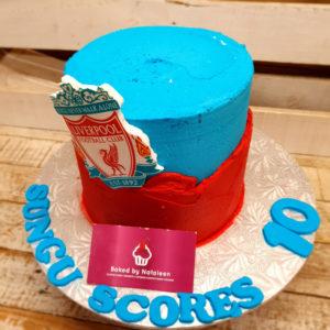 sport birthday cake