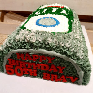 castle lite birthday cake