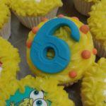 SpongeBob SquarePants printed cupcakes